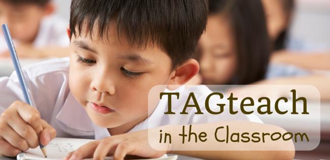 TAGteach  classroom