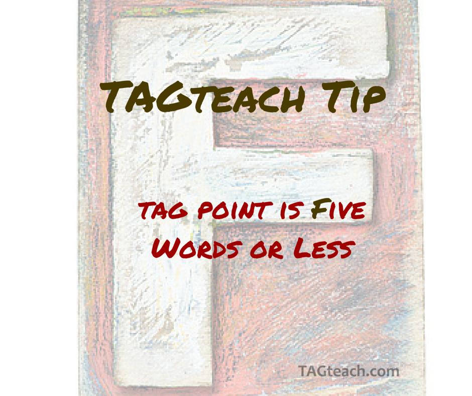 TAGteach tip4