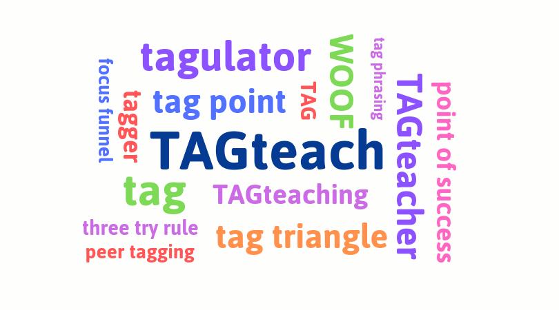 TAGteach wordcloud